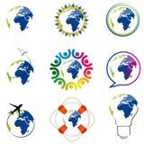 World icons royalty free illustration