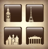 World icons Royalty Free Stock Photos