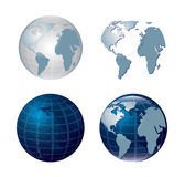 World icons Stock Images