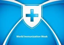 World immunization week. Vector illustration vector illustration