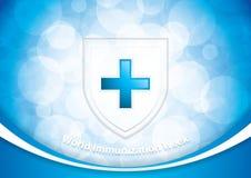 World immunization week. Vector illustration royalty free illustration