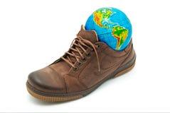 World In Shoe Stock Photos
