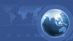 World Infographics Interface Stock Photos