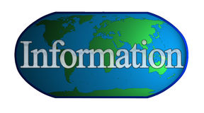 World of Information Stock Image