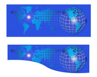World Internet header banner Stock Photo