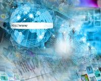 World of internet Stock Photography