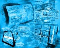 World of internet Stock Photo