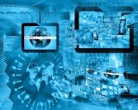 World of internet Stock Image