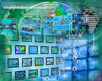 World of internet Royalty Free Stock Photo