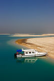 The World Islands in Dubai unfinished project Royalty Free Stock Photos