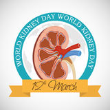 World Kidney Day. Royalty Free Stock Photo