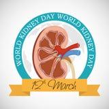 World Kidney Day. Royalty Free Stock Photo