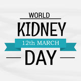 World Kidney Day Stock Image