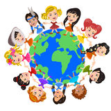 World kids Stock Image