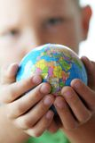 The world in kids hands