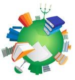 World of knowledge Stock Photo