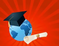 World of knowledge Stock Photography