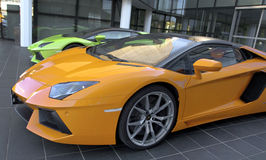 The World of Lamborghini Stock Photo