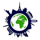 World landmarks Stock Image