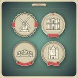 World Landmarks Royalty Free Stock Image