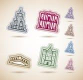 World Landmarks Royalty Free Stock Images