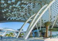 World largest duty free shopping center Royalty Free Stock Photo