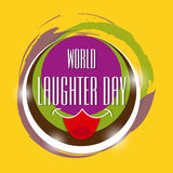 World Laughter Day. Royalty Free Stock Photo