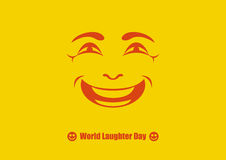 World Laughter Day vector Stock Photography