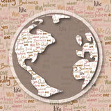 World letters Stock Photo