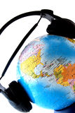 The world is listenig Royalty Free Stock Image