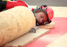 World logging championship 2012 Stock Photo