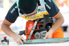 World logging championship 2012 Royalty Free Stock Images