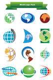 World Logo Pack Royalty Free Stock Image