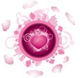 World of love Royalty Free Stock Photo
