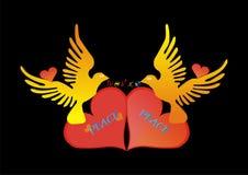 World love peace Stock Photos