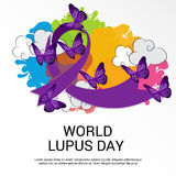 World Lupus Day. Royalty Free Stock Images