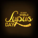 World Lupus Day. Stock Photography