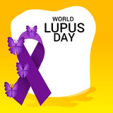World Lupus Day. Stock Photos