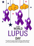 World Lupus Day. Stock Images