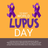 World Lupus Day. Royalty Free Stock Photography