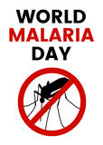 World Malaria Day Royalty Free Stock Photography