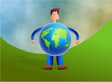 World Man Stock Photo