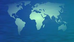 World Map. Map of the world illustration Stock Photo