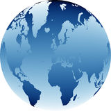 World map 05 Royalty Free Stock Images