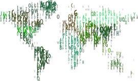 World Map. World. world map. map of world. typographic world map Royalty Free Stock Image