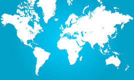 Free World Map Stock Photography - 13089602