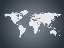 world map. This image is a  illustration of world map Royalty Free Stock Image