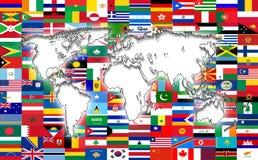 World map Stock Image