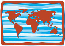 World map Royalty Free Stock Image