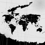 World-map  Royalty Free Stock Photos